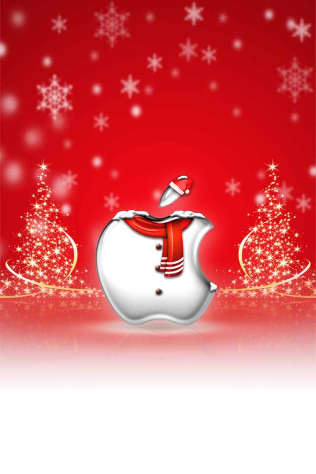 iPhone Wallpaper   Christmas by LaggyDogg 640x960