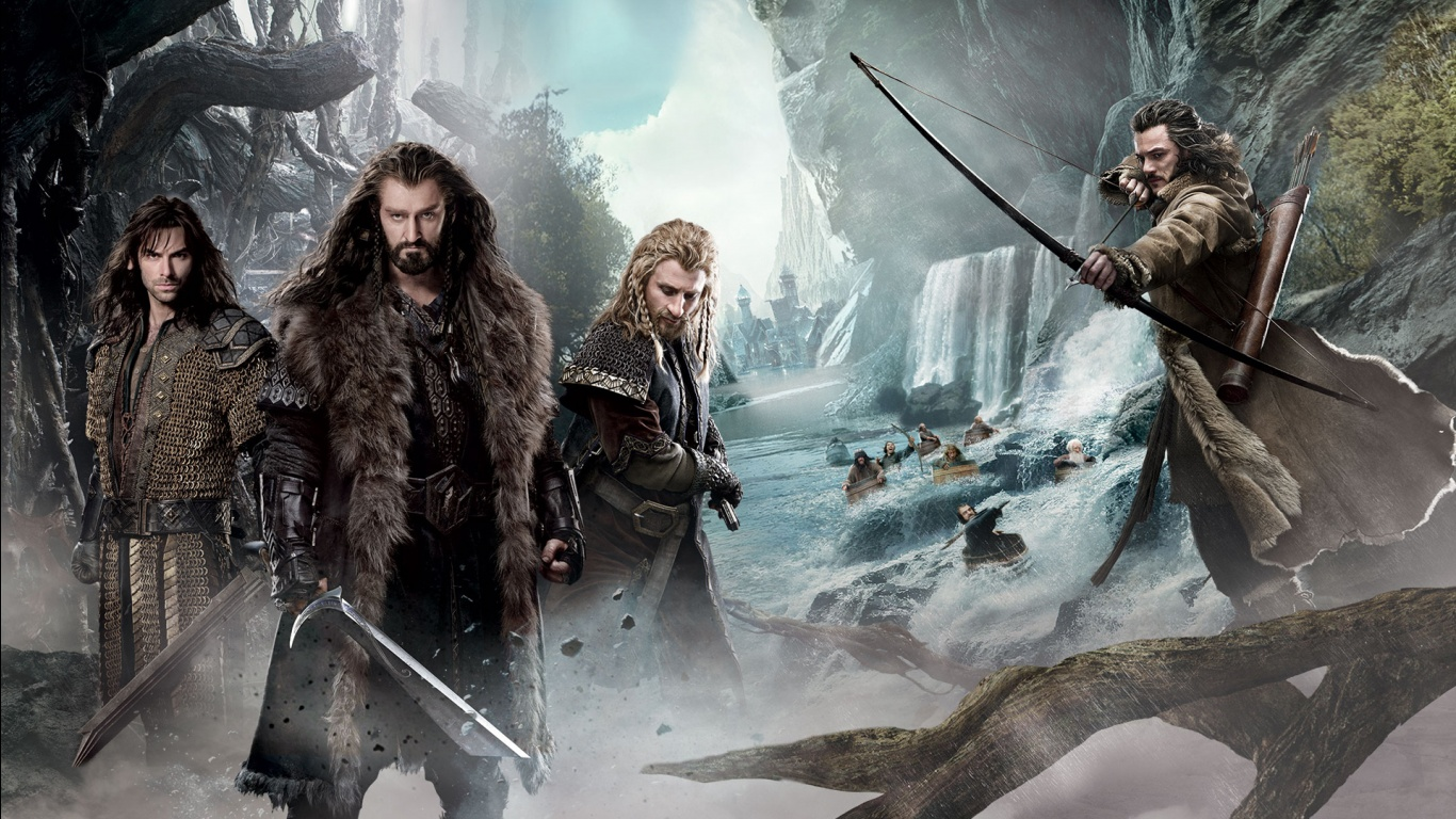 The Hobbit 2 Movie Wallpapers in jpg format for download 1366x768