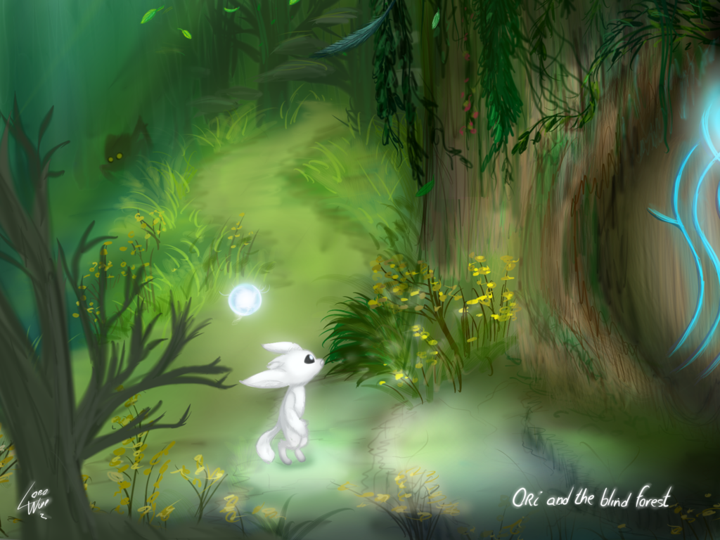 Ori and the Blind Forest by lobowupp on DeviantArt