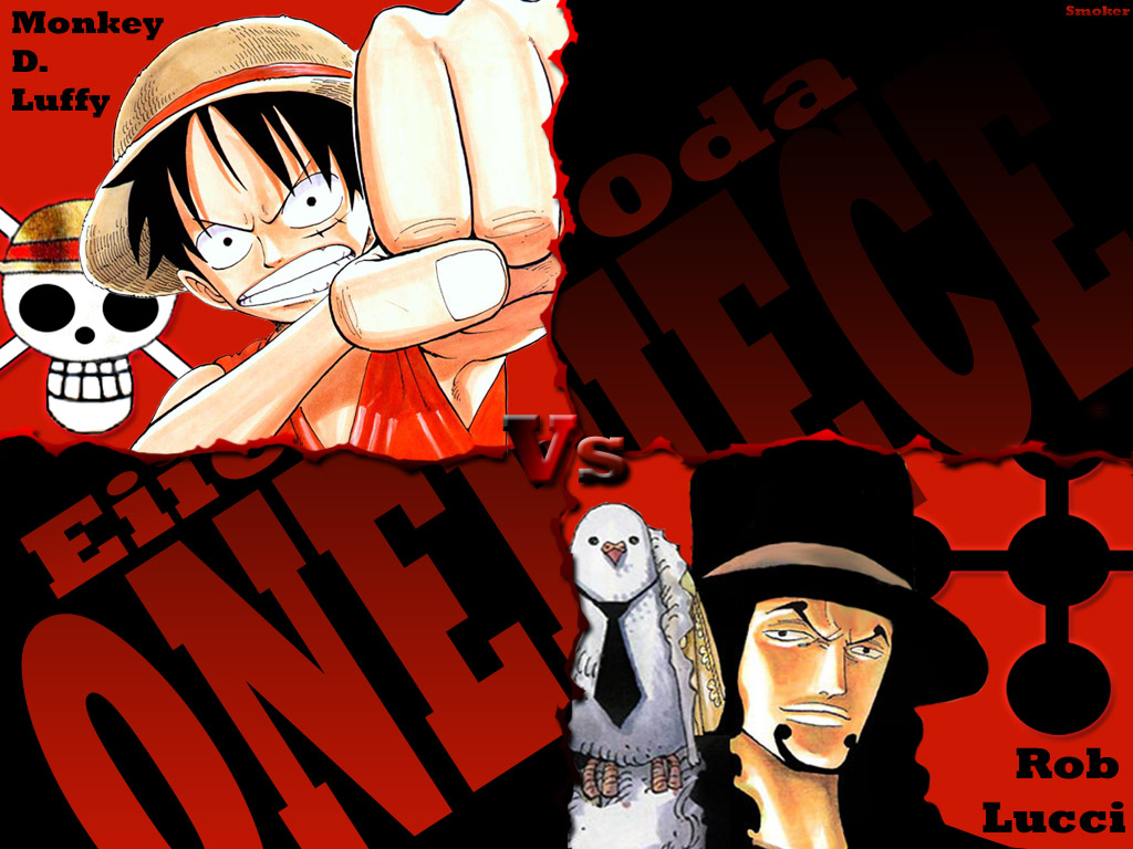 Anime Dojo Anime Gallery One Piece wallpapers Luffy VS Lucci 1024x768