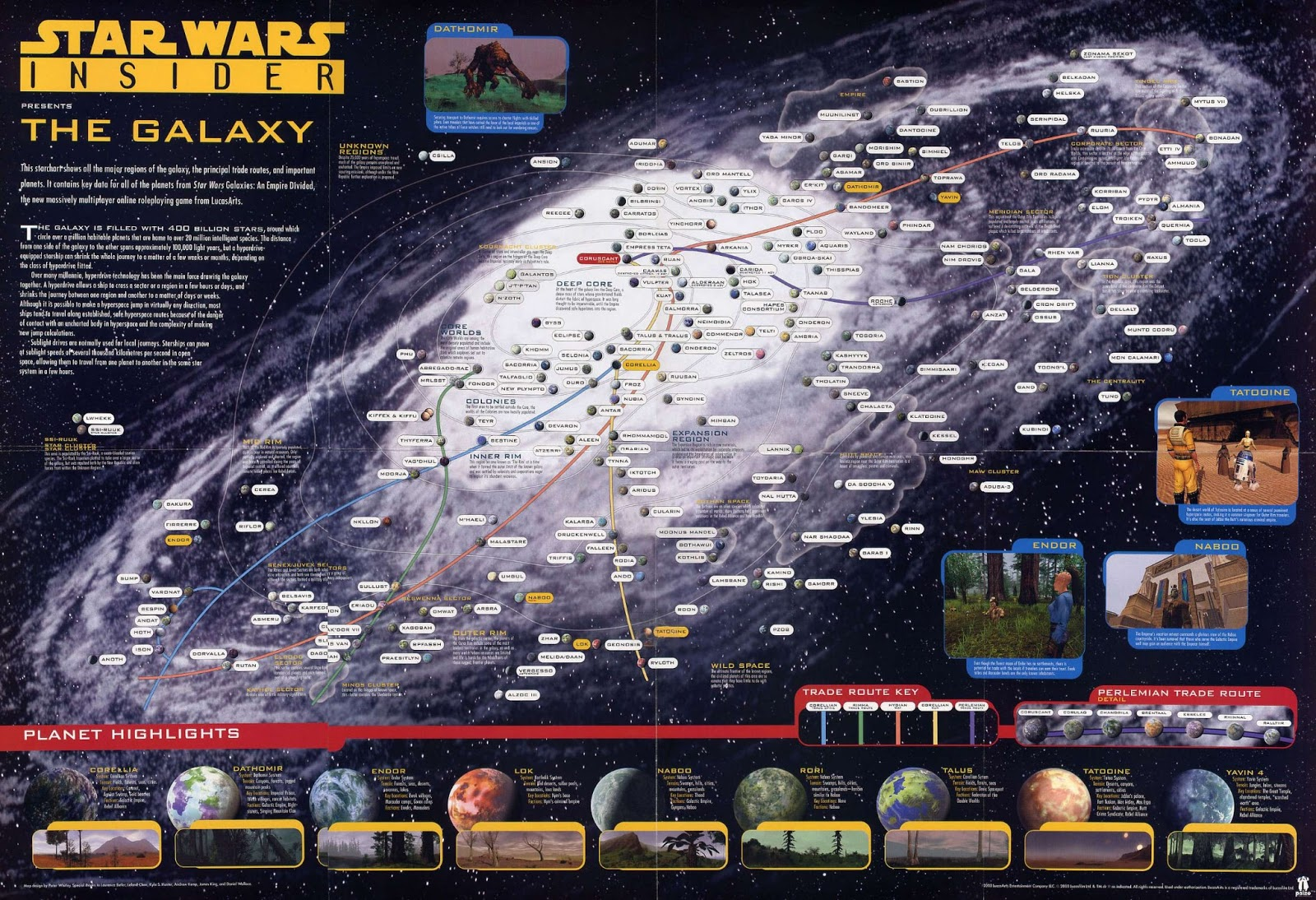 star wars map star wars galaxy map official galactic map star wars 1600x1094