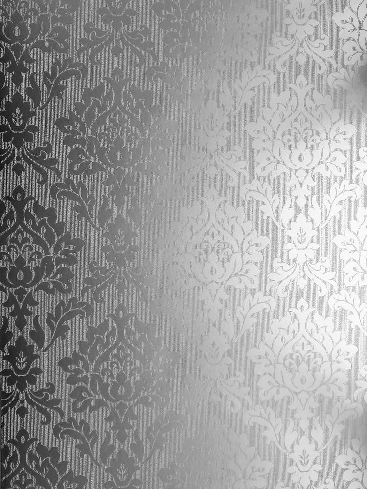 Burlington Metallic Silver DamaskTextured Vinyl Wallpaper FD40625 750x1000