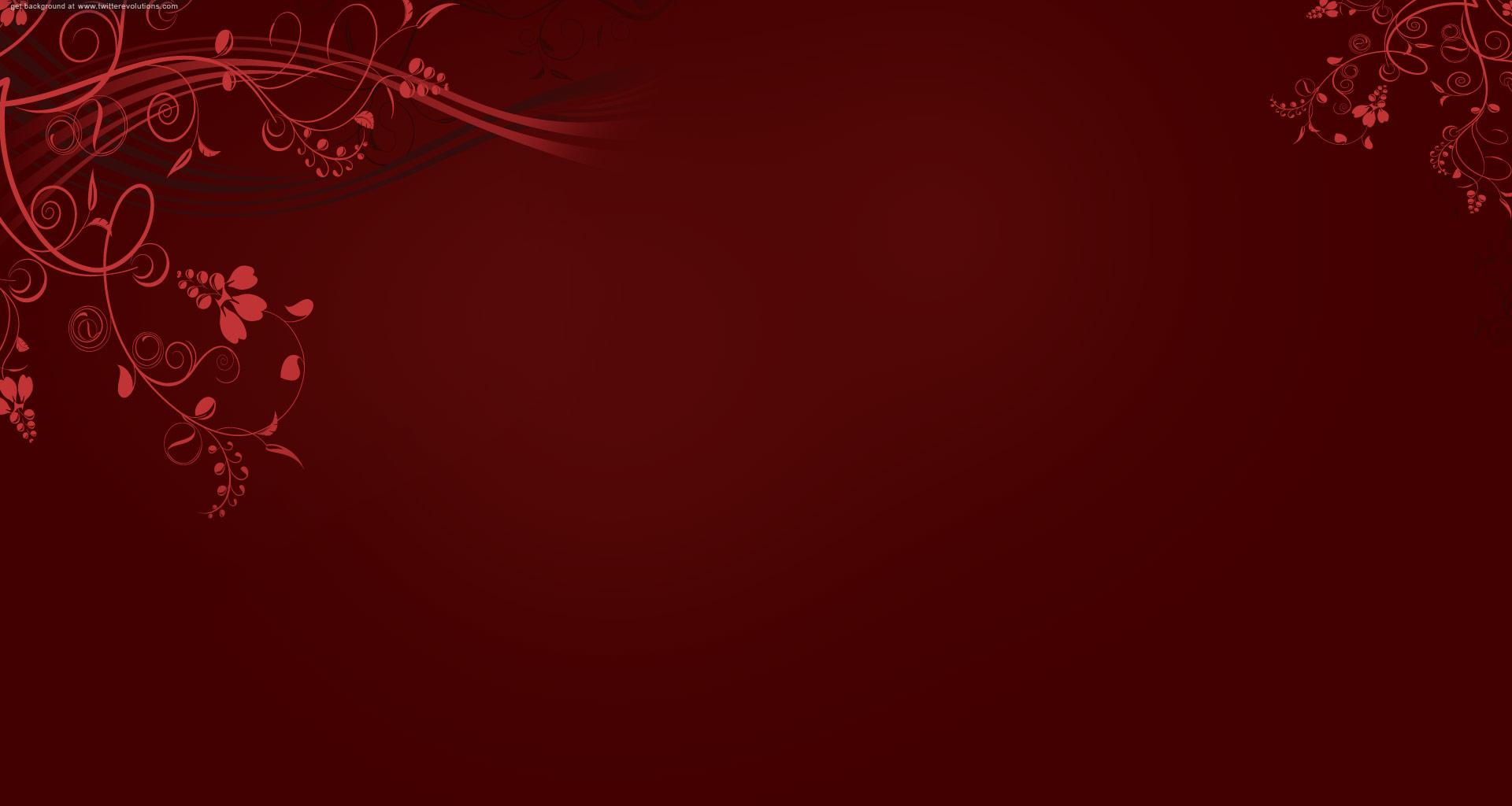 Red swirls twitter background   Twitterevolutions 1920x1024