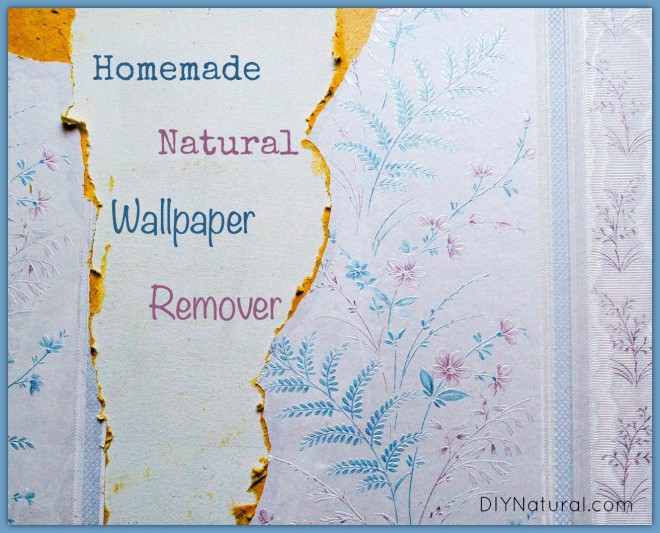 Natural Homemade Wallpaper Remover and How To Use It 660x533