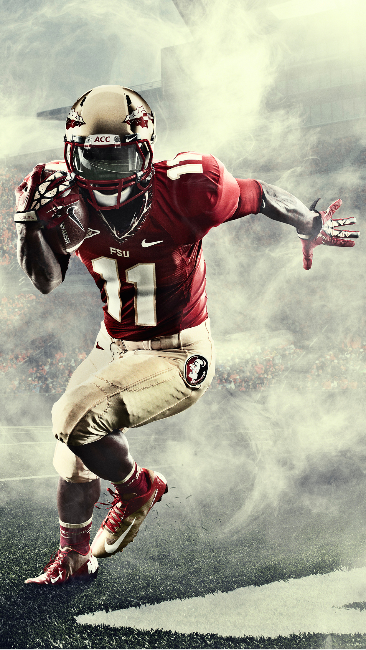 5225a8770 American Football Nike 3Wallpapers iPhone Parallax Les 3 Wallpapers  1242x2208
