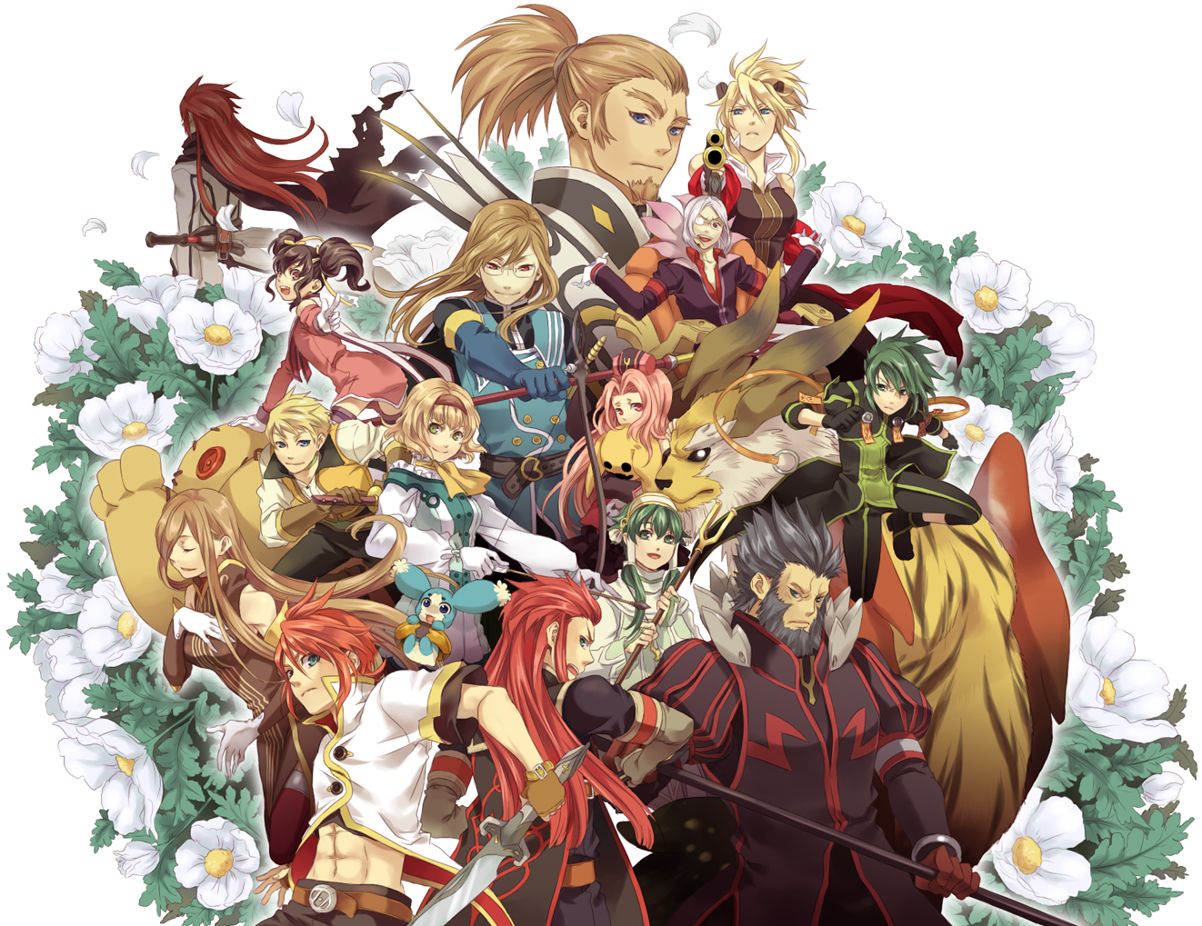 Anime Tales of the Abyss Dansk Anime 1322x1019