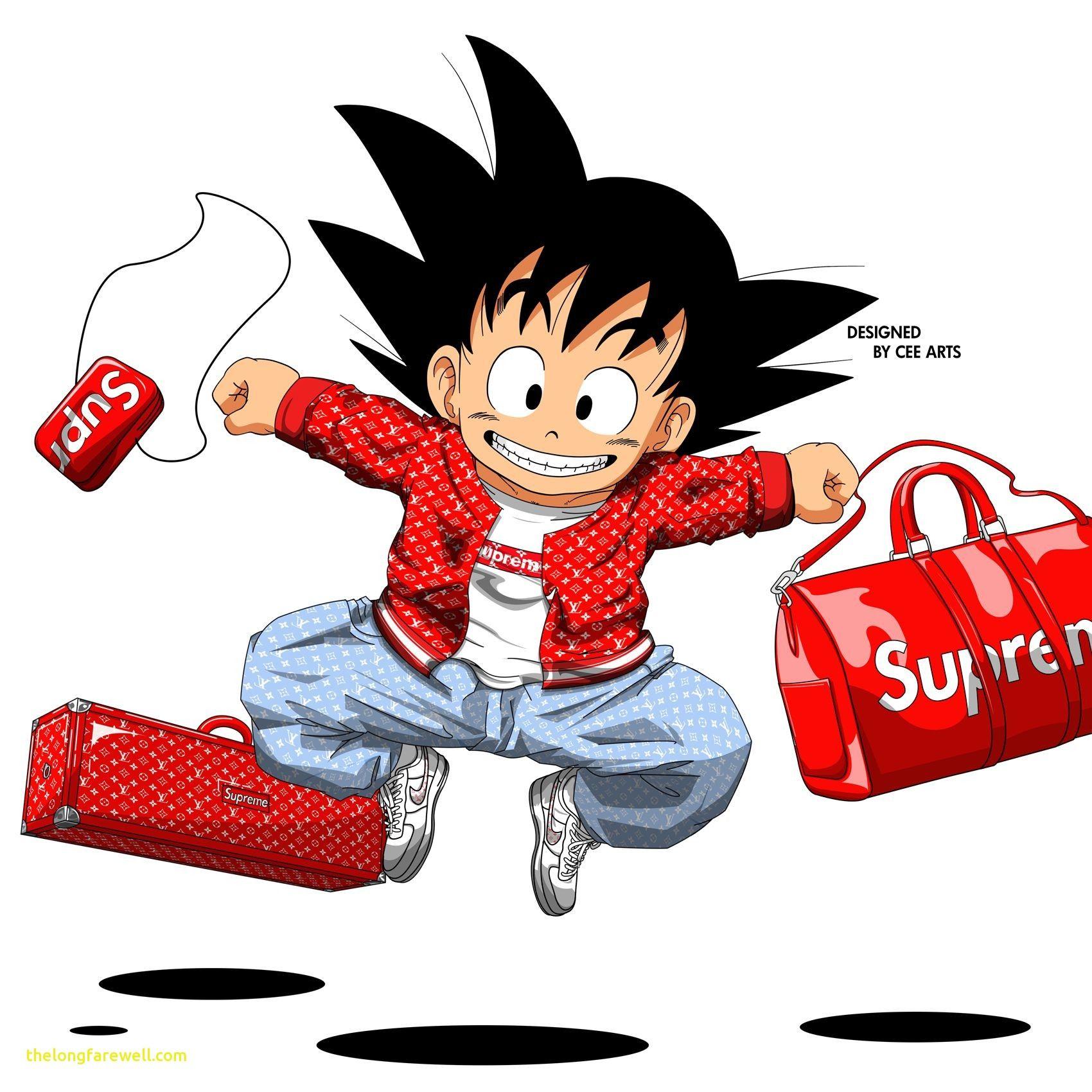 Kid Goku Supreme Wallpaper   Android Red 1700x1700