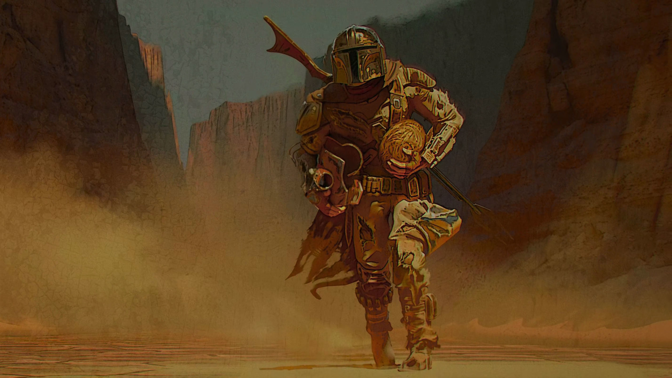 45 The Mandalorian Art 2020 Wallpapers On Wallpapersafari