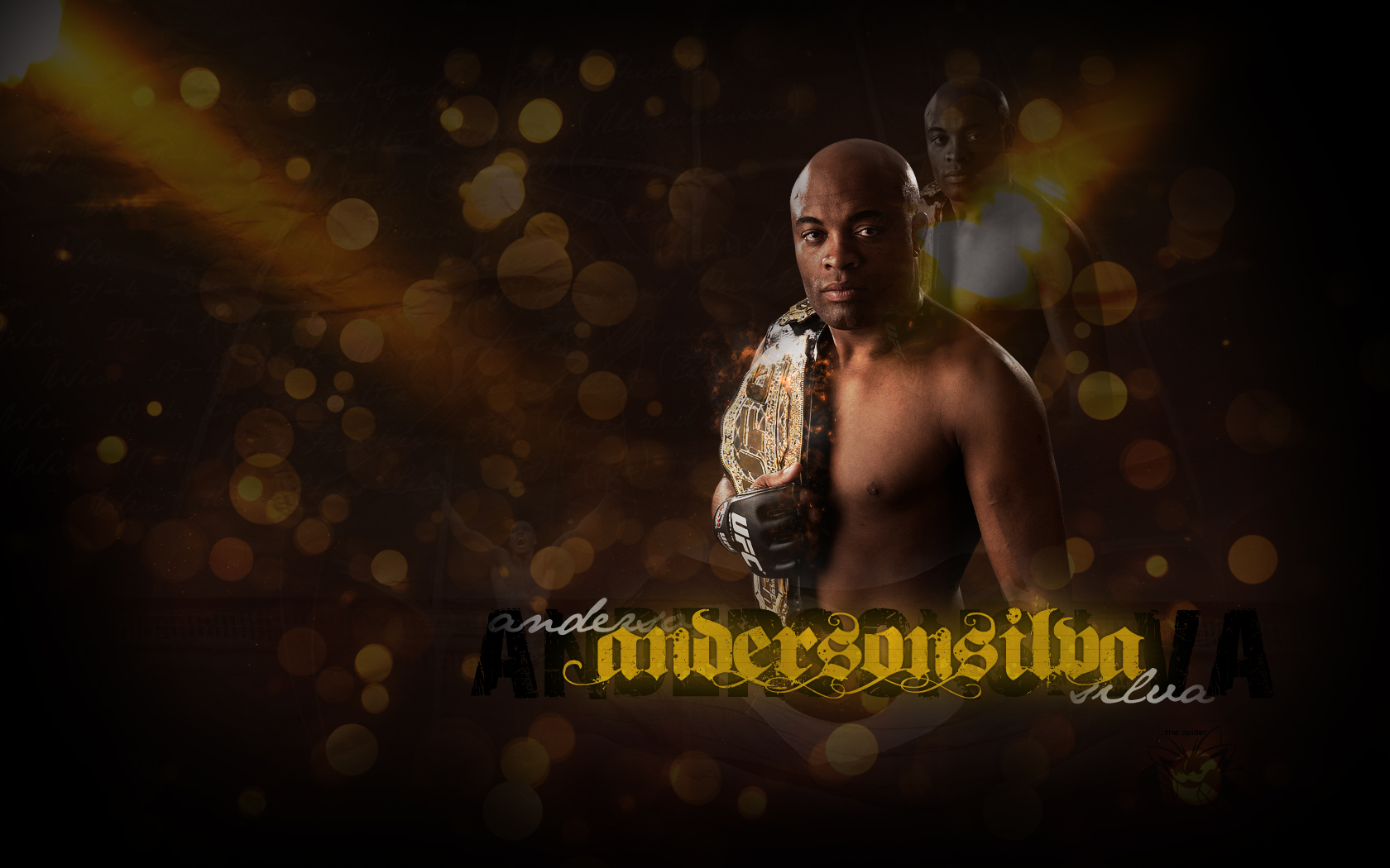 Anderson Silva Wallpaper HD 1680x1050
