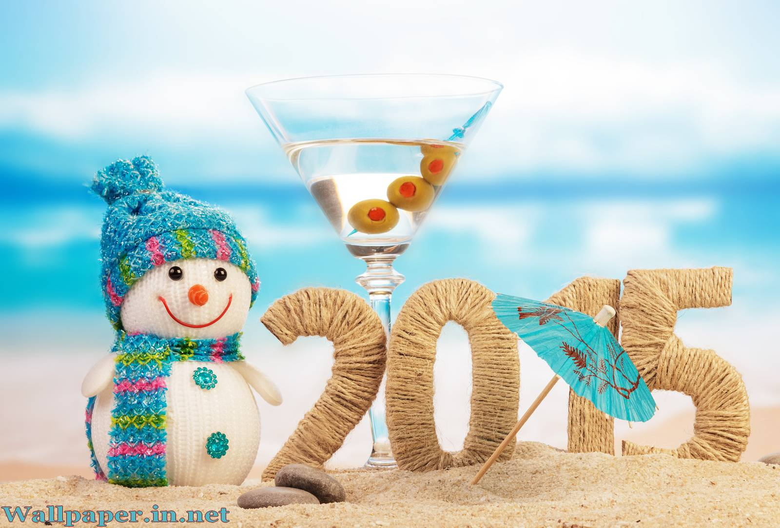 HD background Happy New Year 2015 1600x1082