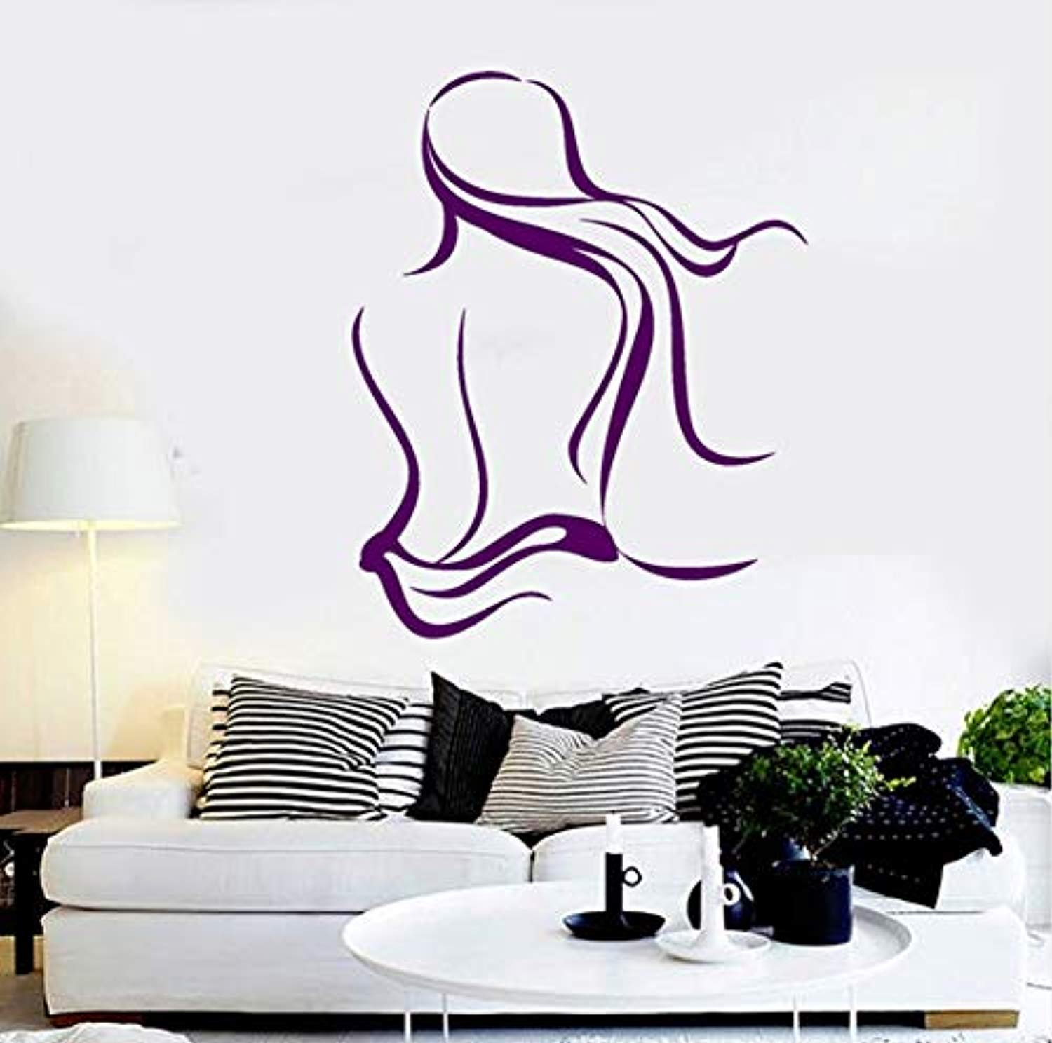 Amazoncom Profit Decal Spa Salon Naked Woman Massage Relax Art 1500x1488