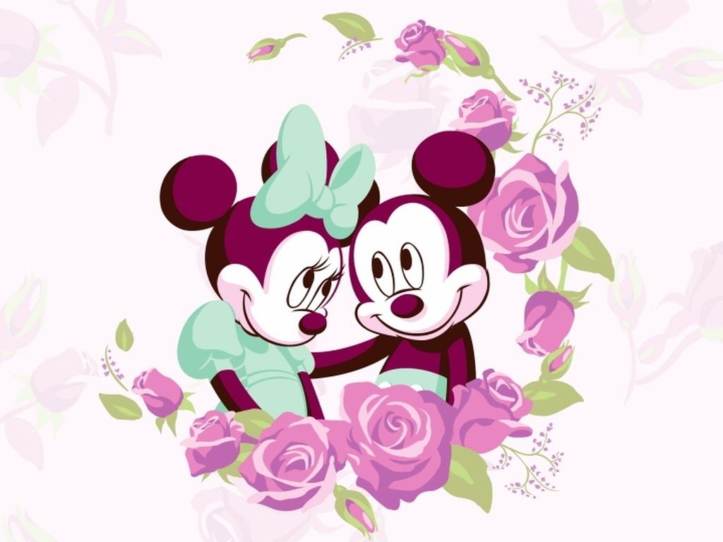 50 Minnie And Mickey Wallpaper On Wallpapersafari