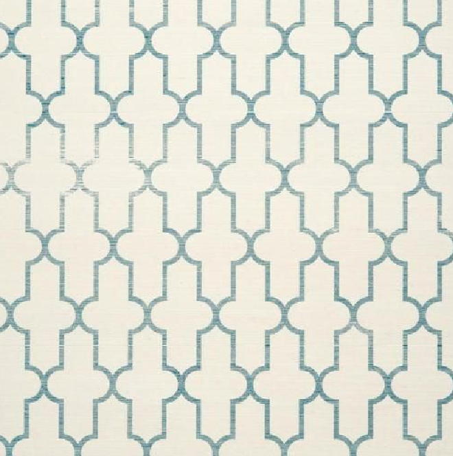 this moroccan wallpaper in blue to wrap your walls in exotic graphics 660x664