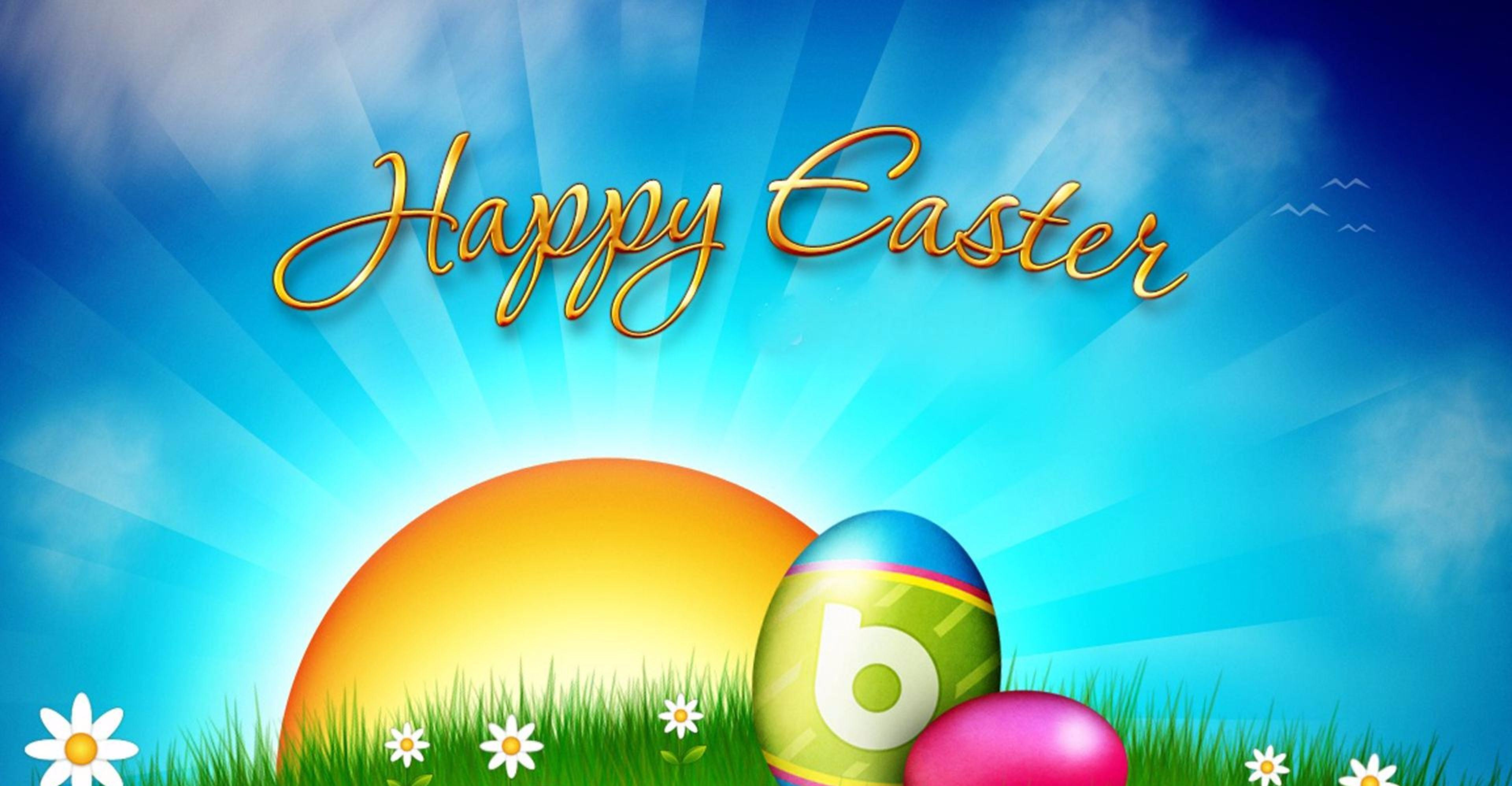 Easter Backgrounds 2018 Easter Wishes 3840x1996