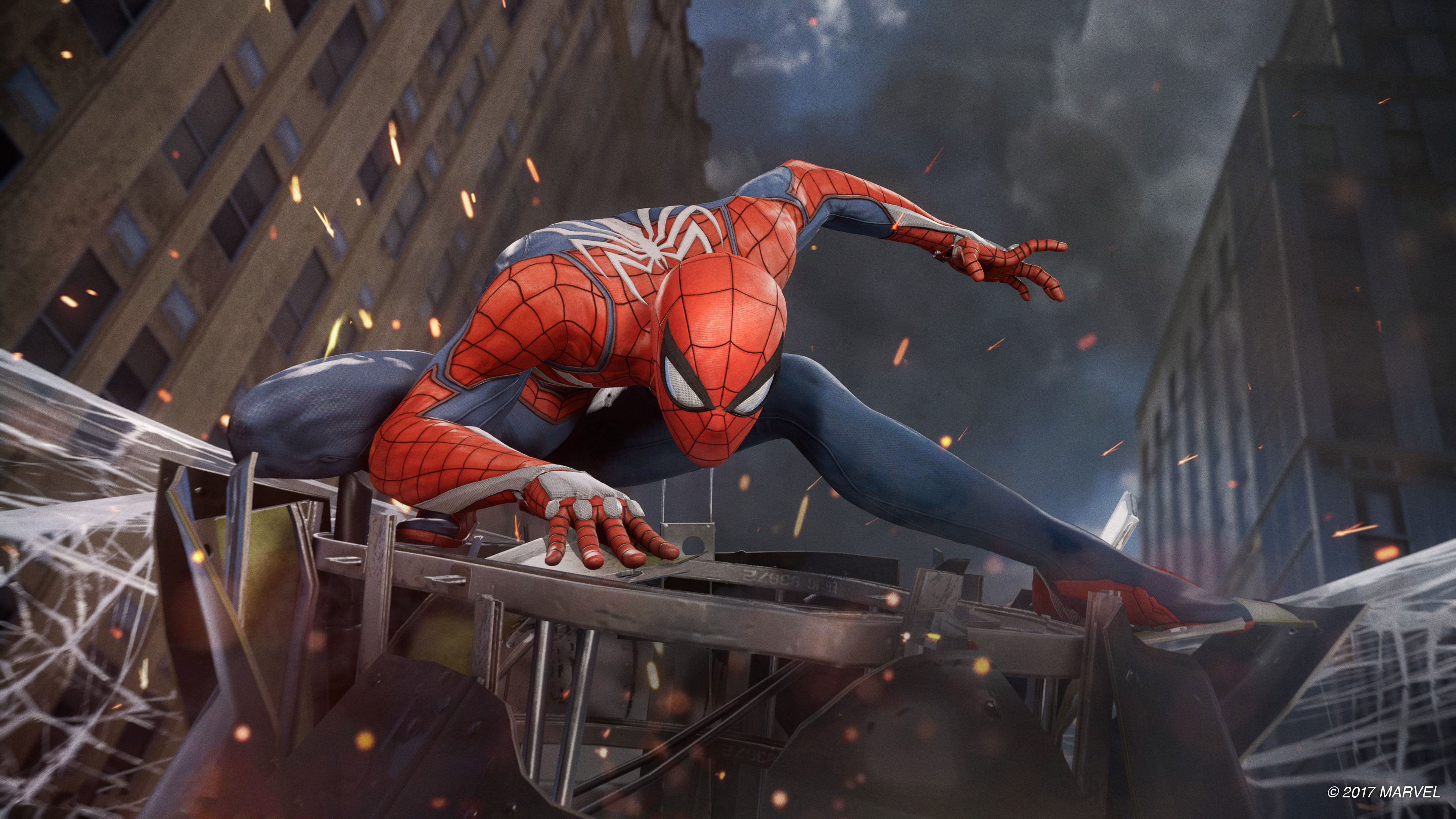 53 Spider Man PS4 HD Wallpapers Background Images   Wallpaper 3840x2160