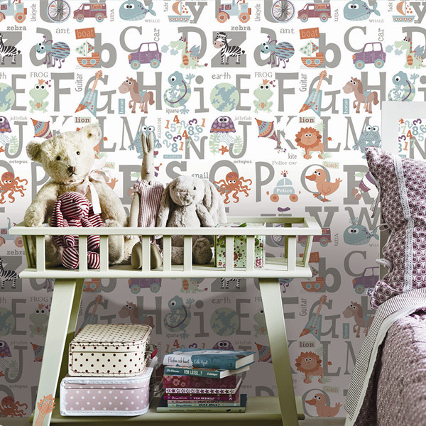 baby room wallpaper espcially for boys rooms, View baby room wallpaper ...