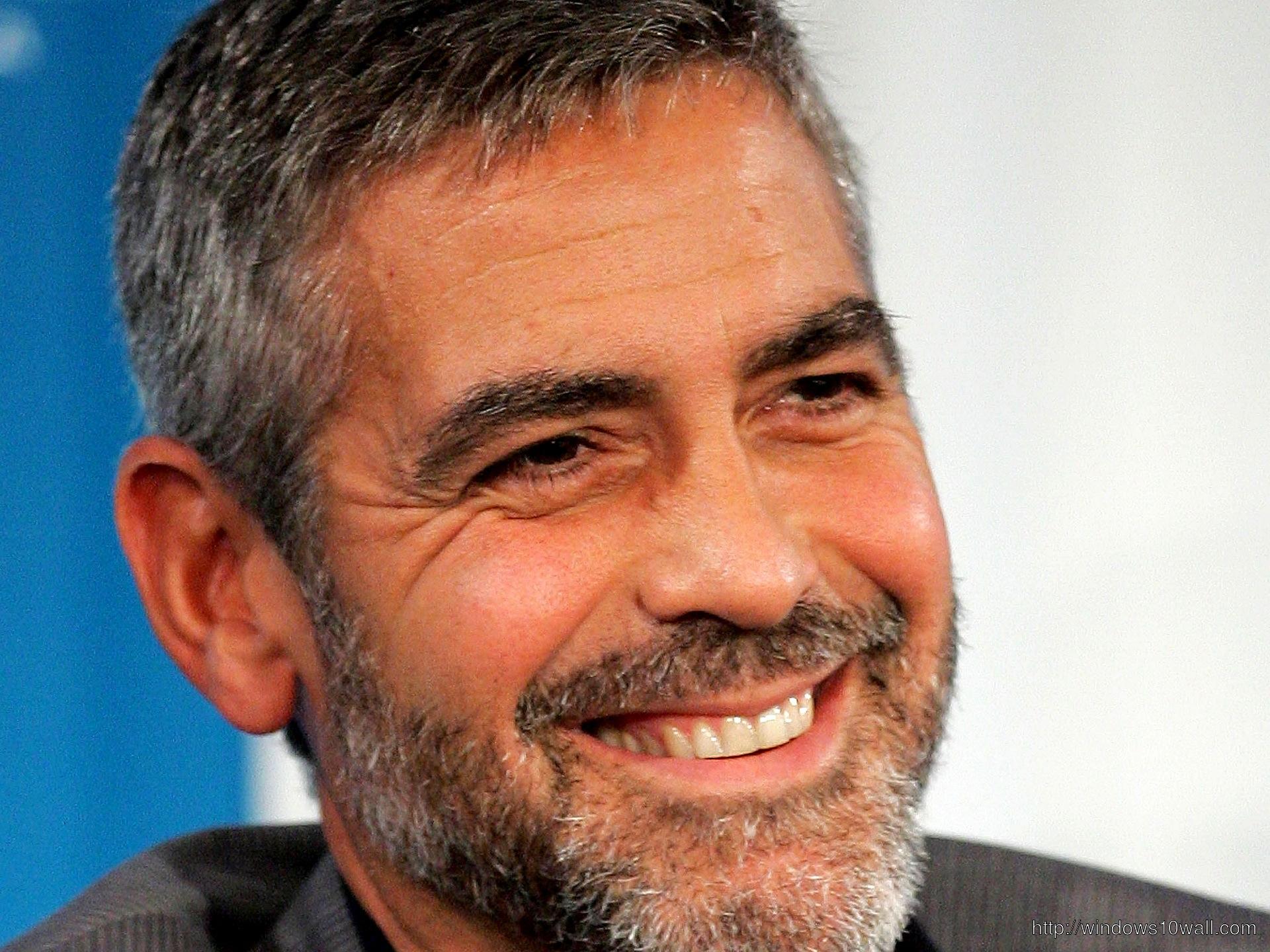 George Clooney Smile wallpaper 1920x1440