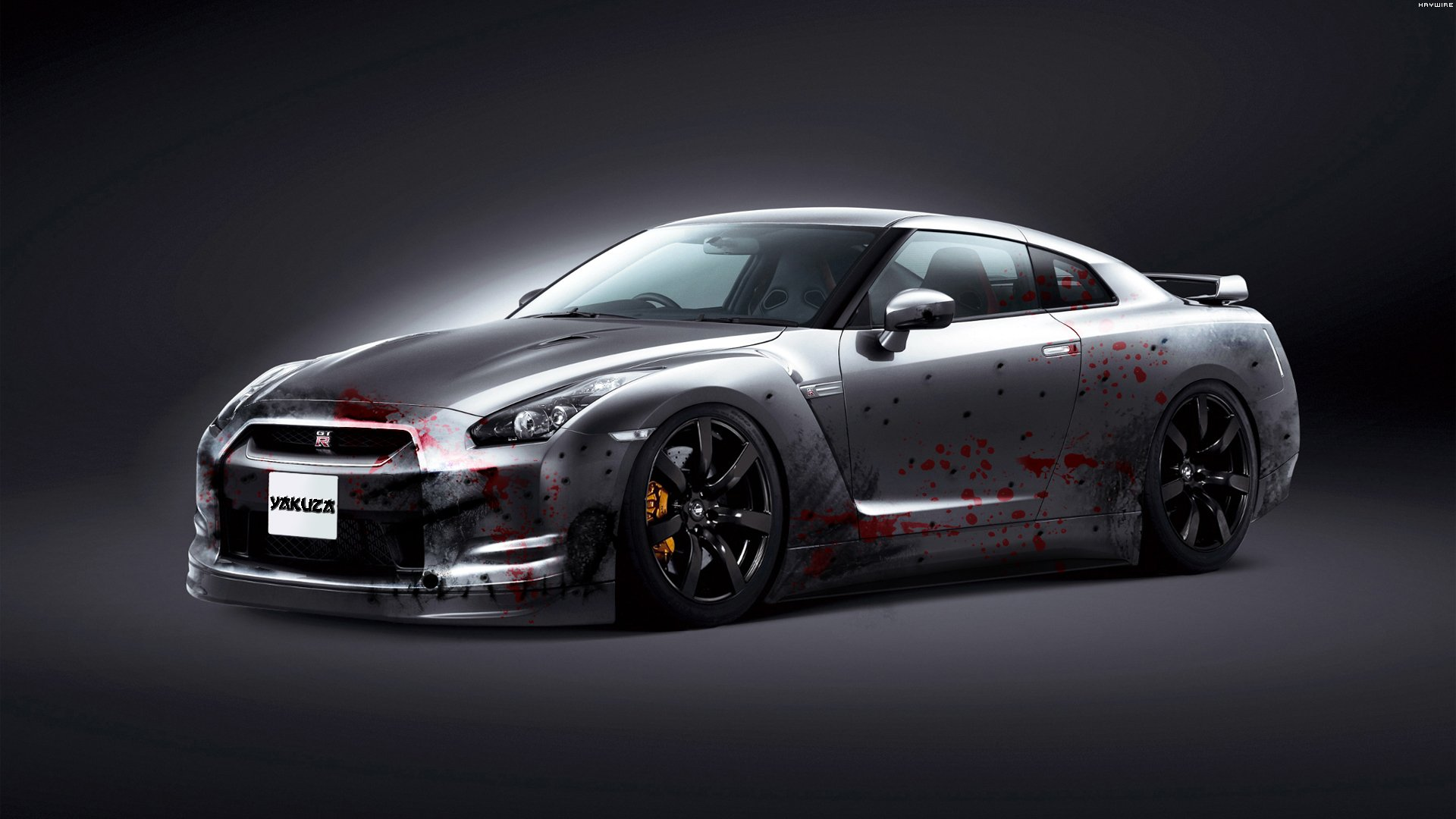 Nissan GTR Black Edition 08 wallpaper 1920x1080 565828 1920x1080