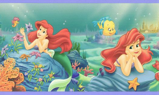 Mermaid Wallpaper Border   Wallpaper Border Wallpaper inccom 525x316