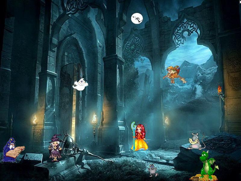 Happy Halloween ScreenSaver 23 download   Screensavers   Desktop 800x600