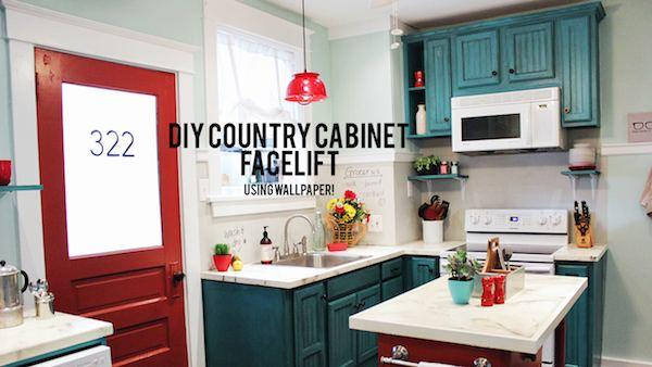 DIY Cabinet Refacing Knock It Off The Live Well Network 600x338