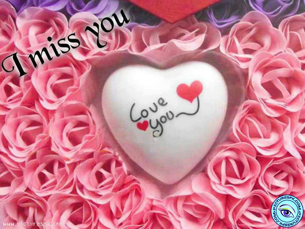View I Miss U Picture Wallpaper in 1024x768 Resolution 1024x768