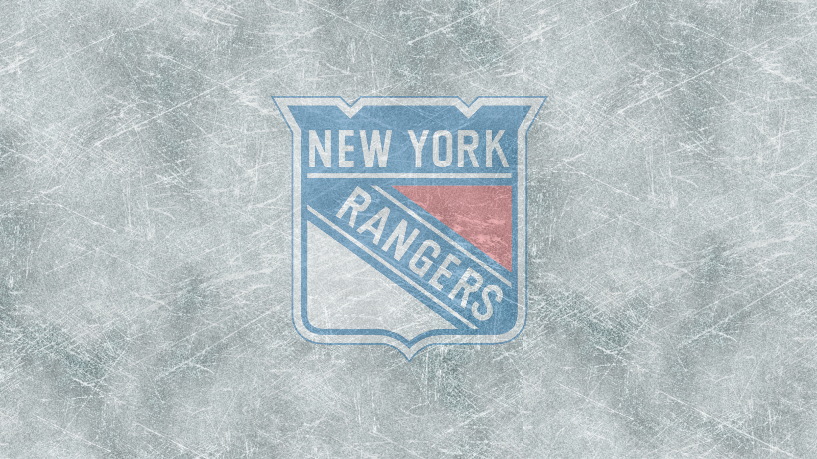 Free Download Wallpaper Other The New York Rangers Logo On Ice