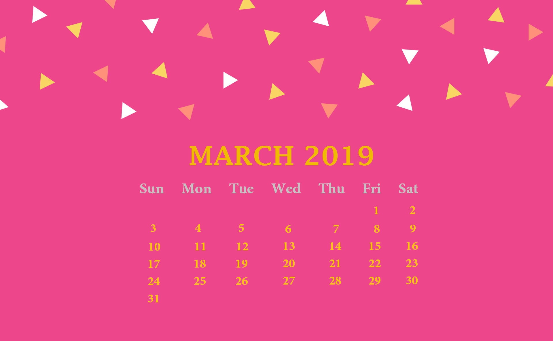 March 2019 Desktop Wallpaper Calendar Latest Calendar 1920x1184