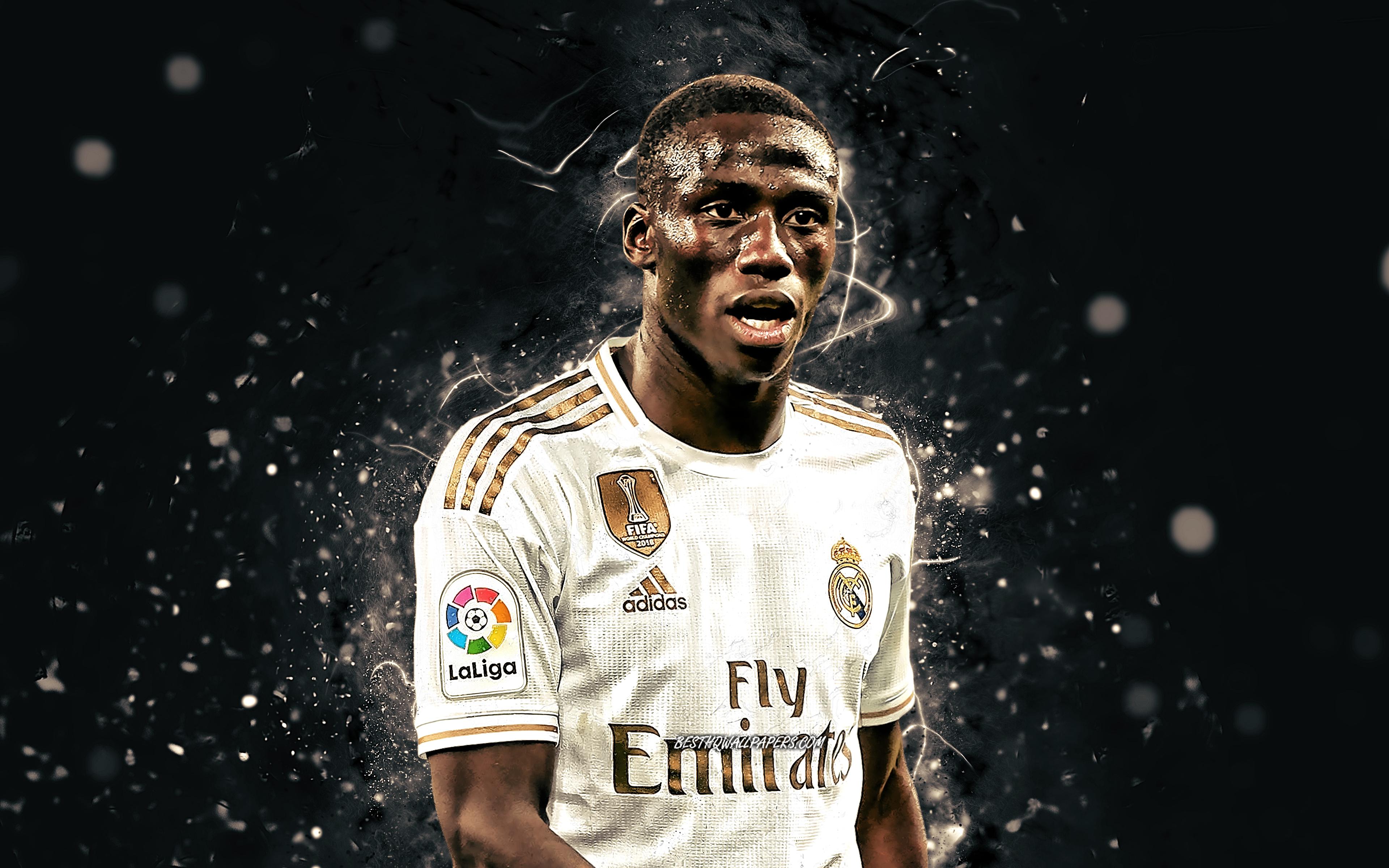 Download wallpapers Ferland Mendy 4k 2020 Real Madrid FC 3840x2400