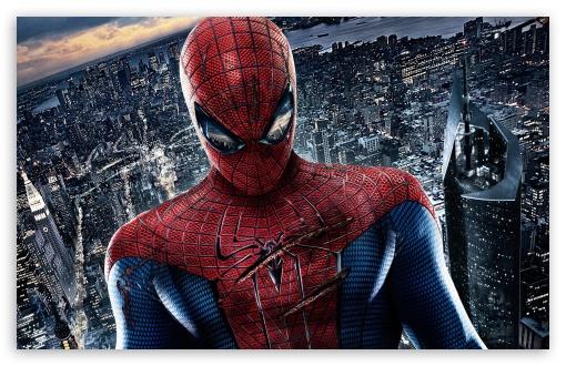 The Amazing Spider Man HD wallpaper for Standard 43 54 Fullscreen 510x330