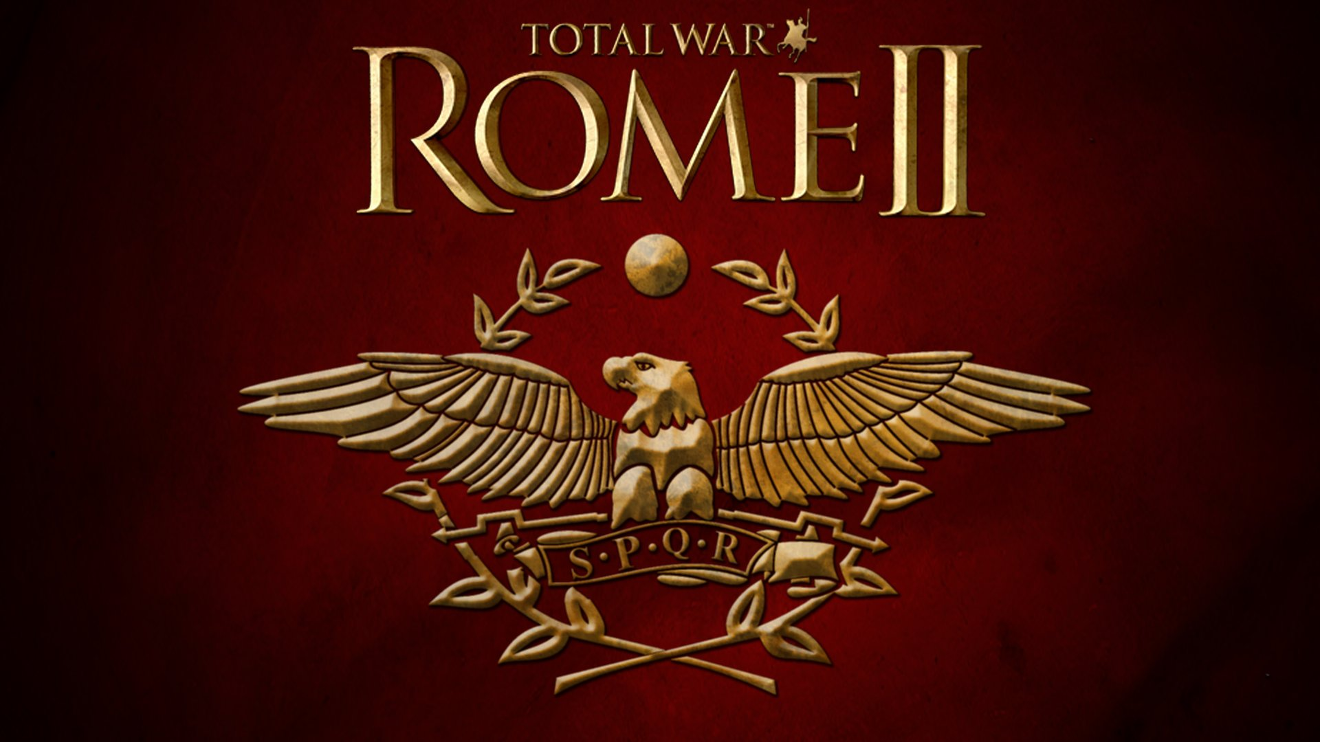 Total War Rome 2 Logo Wallpaper Wallpaper 1920x1080