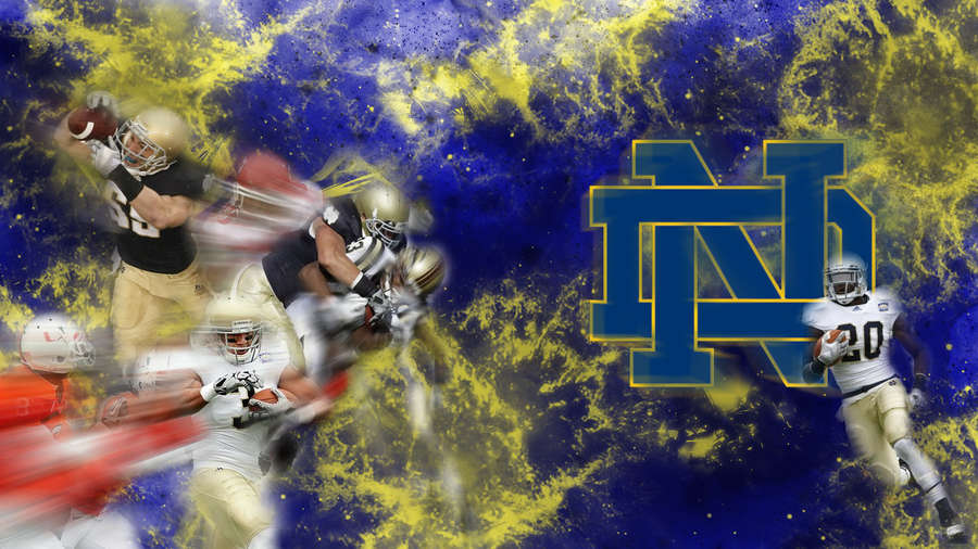 Notre dame wallpaper wallpapersafari - Notre dame football wallpaper ...