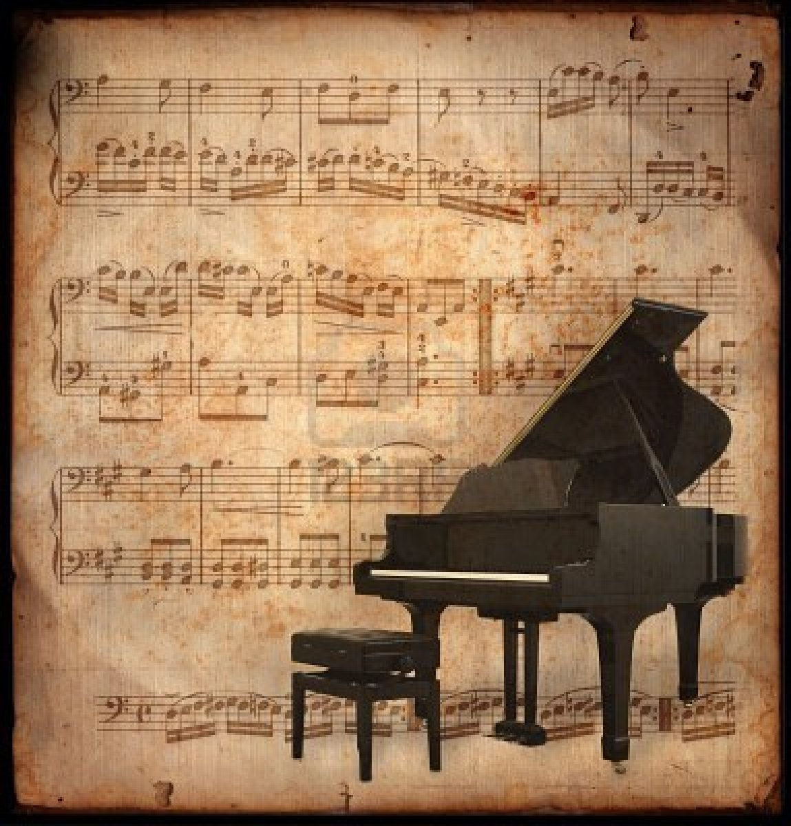 Piano Music Wallpaper