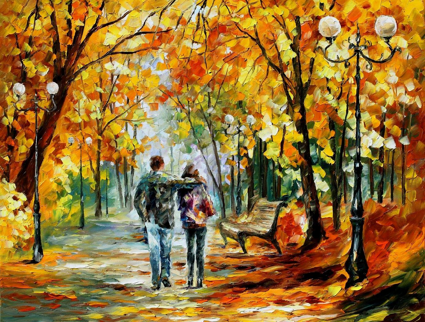 Leonid Afremov wallpaper 144438 1383x1048