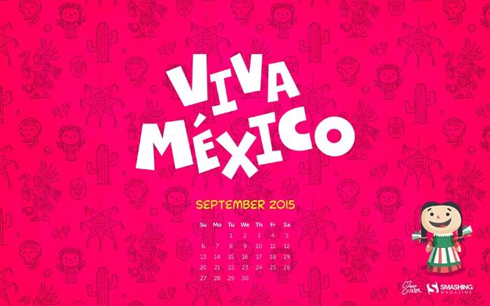 September 2015 Calendar Desktop Themes Wallpaper Wallpapers List 700x437