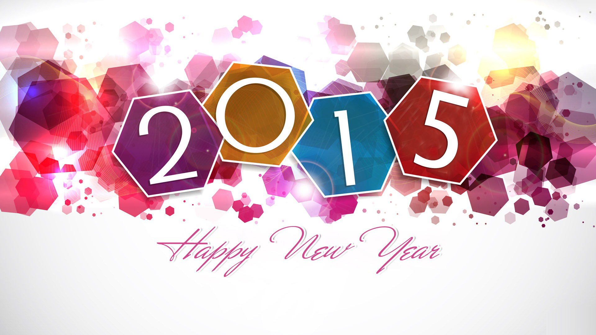 2015 New Year Wallpaper 1920x1080