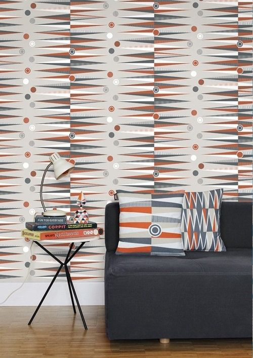 Geometric Pattern Self Adhesive Vinyl Wallpaper D206 500x707