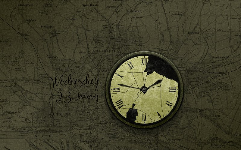 Wallpaper With Clocks Wallpapersafari