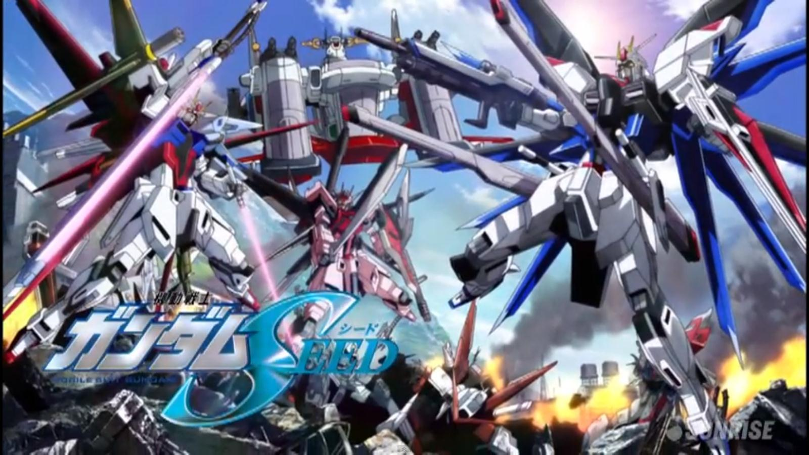 Gundam Seed Wallpapers 1600x900