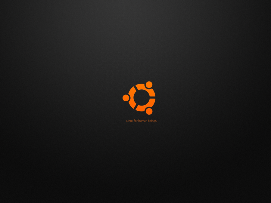 Ubuntu HD Wallpaper   Ubuntu black Wallpaper 1600x 900x675