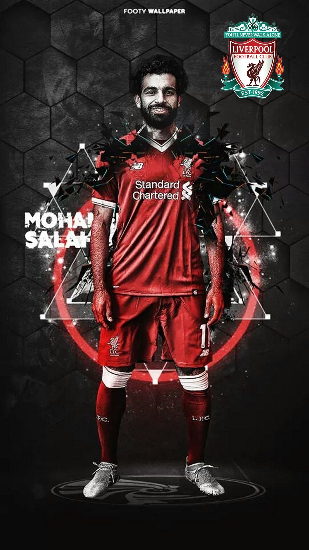 Pin by Ahmad Denkc on All About Liverpool Mohamed salah 1080x1920