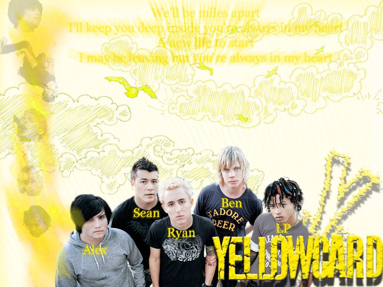 Yellowcard Wallpapers 1280x960