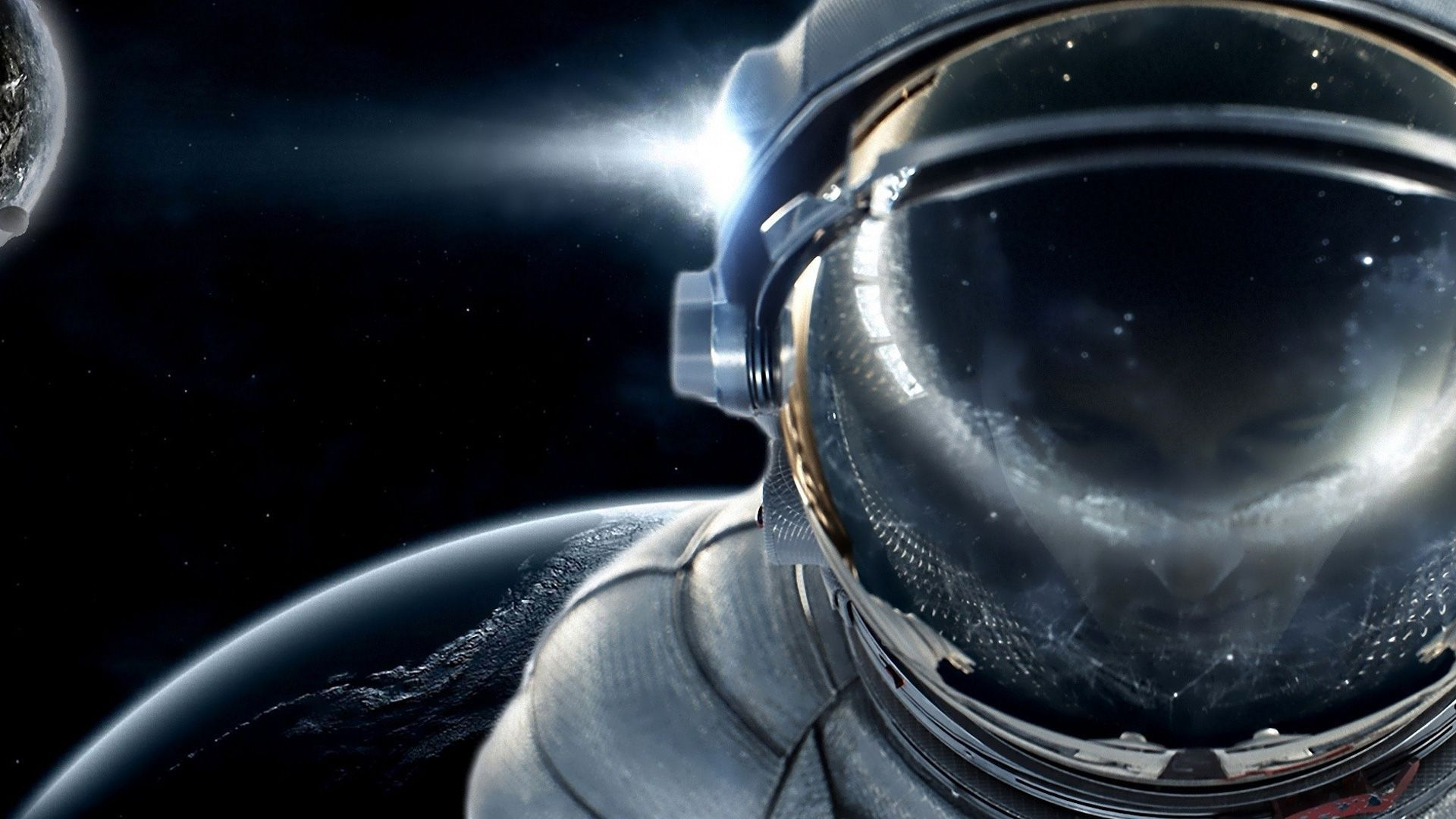 Cool astronaut wallpapers wallpapersafari - Cool space wallpapers ...