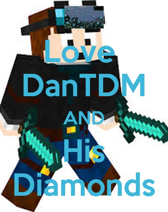 Dantdm Logo Wallpaper Love dantdm and his diamonds 549x692