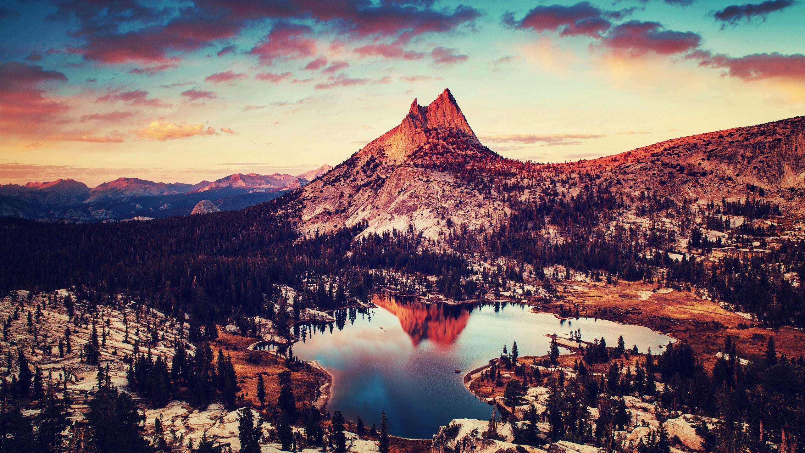 Yosemite National Park California Computer Wallpapers Desktop 2560x1440