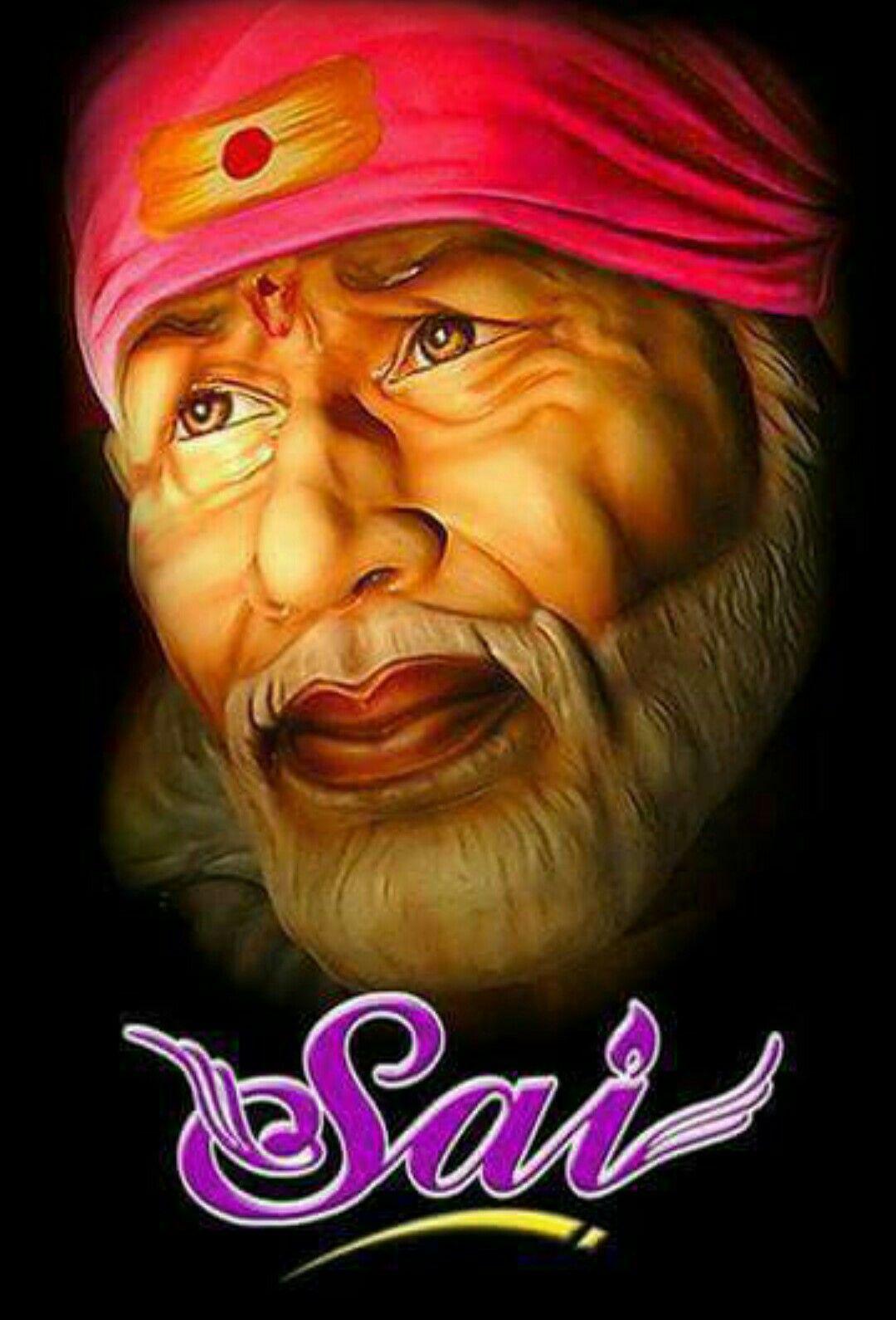 Om sai ram Faith Sai baba wallpapers Sai baba Sai baba pictures 1080x1590