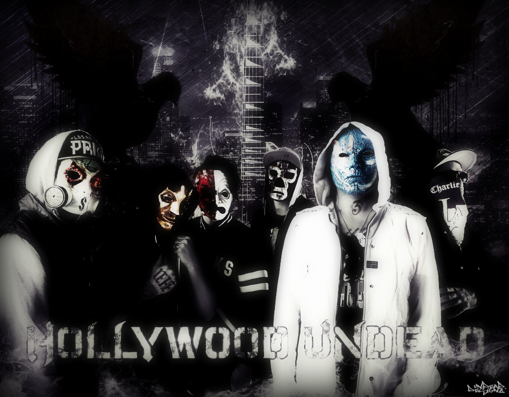 Hollywood Undead Wallpaper 2013 by UndeaDDesignz 1024x800
