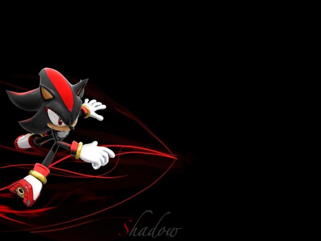 Shadow The Hedgehog Awsome Shadow wallPaper 1024x768