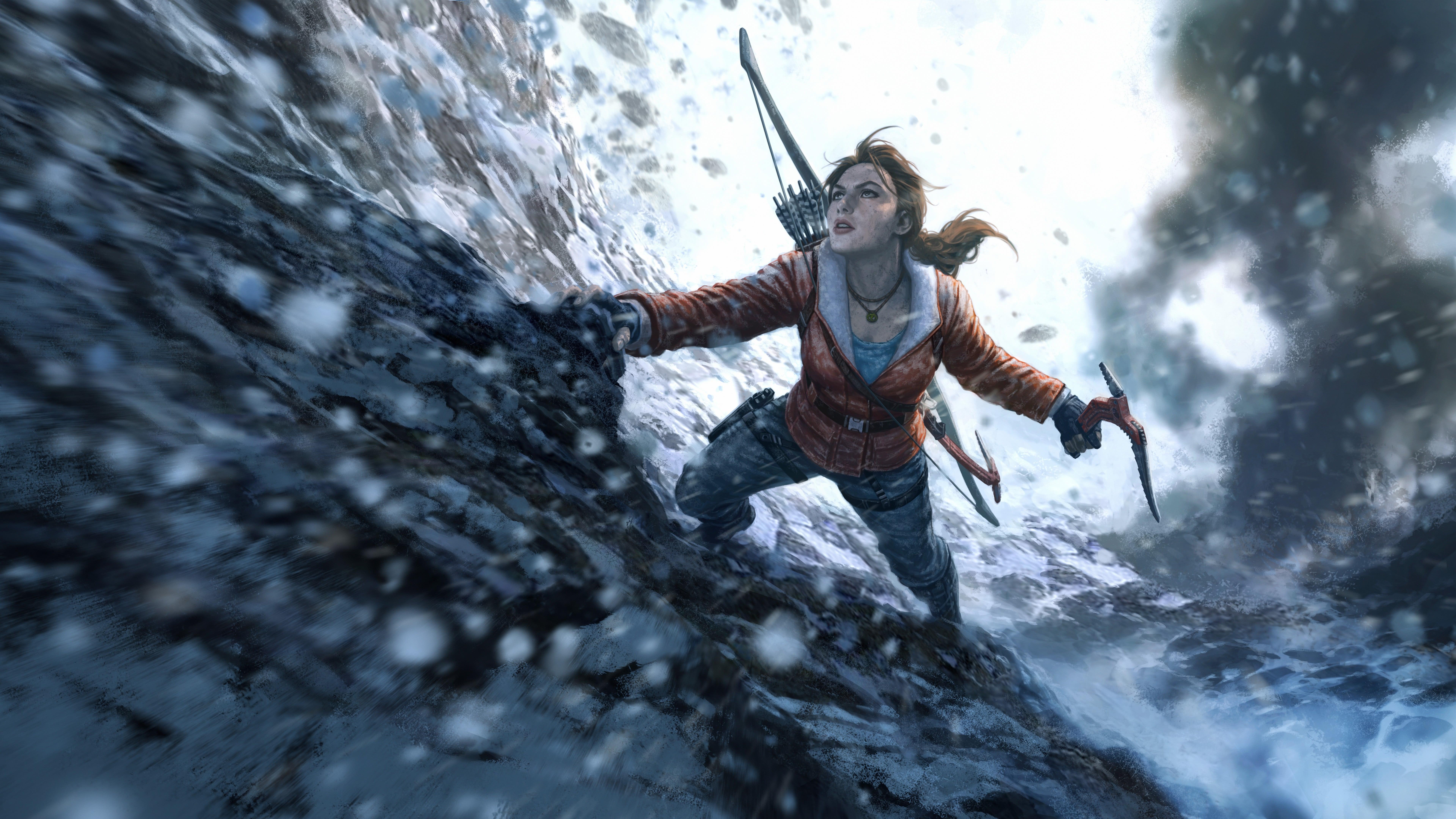 32 Tomb Raider Wallpapers On Wallpapersafari