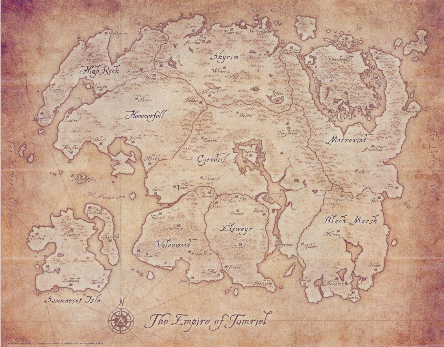 Tamriel Elder Scrolls FANDOM powered by Wikia 1536x1200